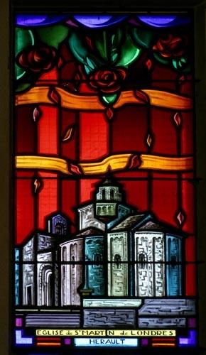 Montpellier Art déco Eglise sainte Thérèse