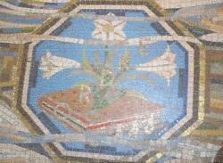 Belle Île : Décor Art Déco de l'église Saint Géran, Le Palai