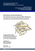 Entwicklung und pharmakologische Charakterisierung eines ...