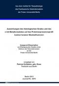 Auswirkungen des histologischen Grades und des c-kit-....