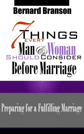 7 Things Every Man & Woman Should Consider Before Marriage