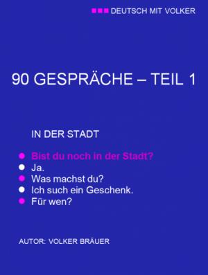DMV - 90 GESPRÄCHE/ TEIL 1