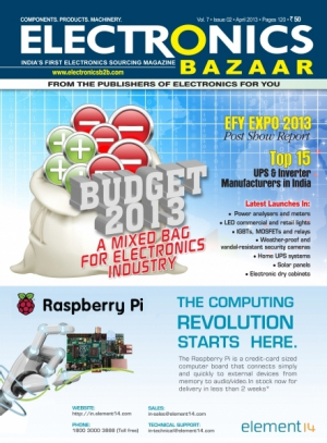 Electronics Bazaar, April 2013