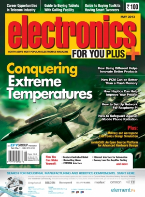 Electronics For You, May 2013