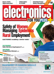 Electronics For You, August 2013
