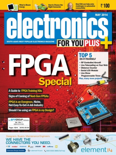 Electronics For You, May 2014