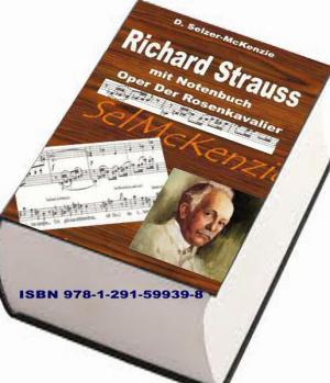 Strauss Richard - mit Notenbuch Oper Der Rosenkavalier