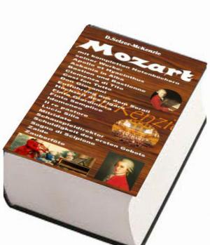 Mozart – mit 4500seitigem Notenbuch aller seiner Musikstücke