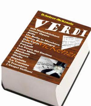 Verdi – mit 4000seitigem Notenbuch aller seiner Opern