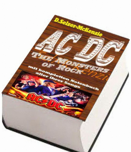 ACDC – mit kompletten Notenbuch aller ihrer Songs