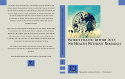 World Health Report 2012