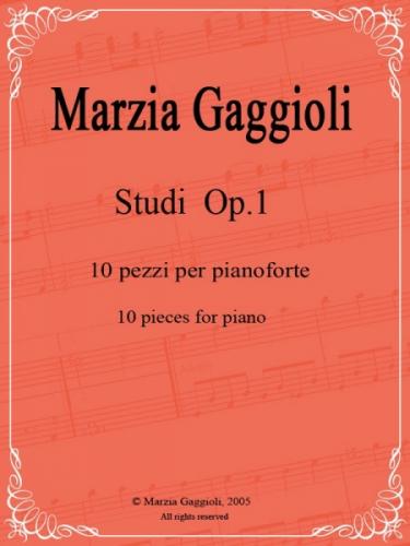 Studi Op.1 by Marzia Gaggioli