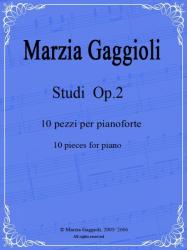 Studi Op.2 by Marzia Gaggioli