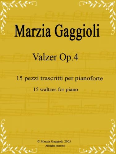Valzer Op.4 by Marzia Gaggioli