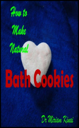 How to Make Natural Bath Cookies