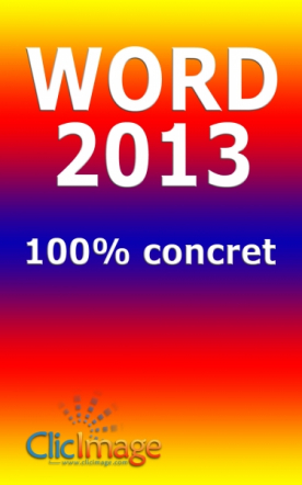 Word 2013 100% concret