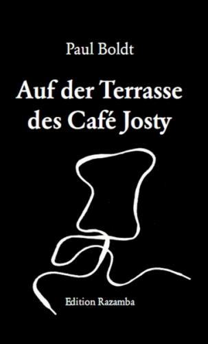 Auf der Terasse des Café Josty