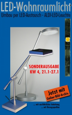 LED Wohnraumlicht SPEZIAL ALDI KW 4/2013