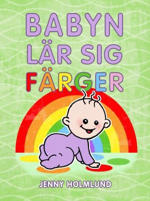 Babyn lär sig färger