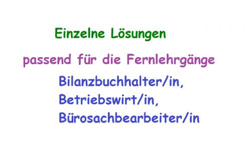 ESA Lösungen / Lernhilfe / Mustervorlage FIN03- FIN04