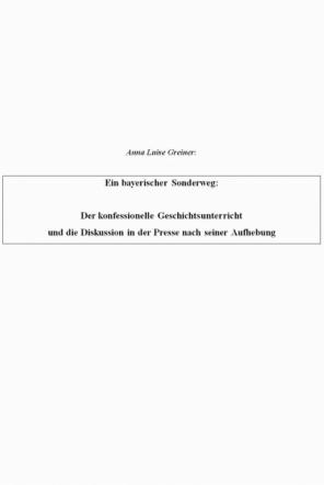 Ein bayerischer Sonderweg