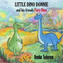 LITTLE DINO DONNIE and his friends Fiery Dino