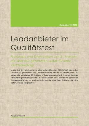 Leadanbieter im Qualitätstest