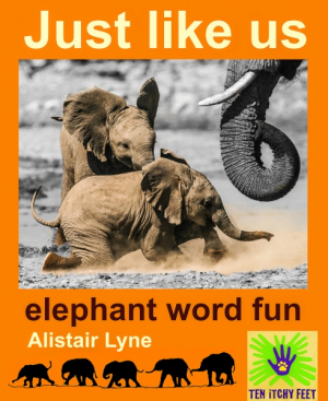 Just Like Us - Baby Elephant Fun
