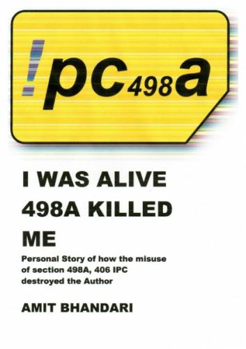 498 A Indian Penal Code, the silent killer