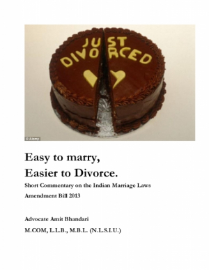 Easy to Marry, Easier to Divorce