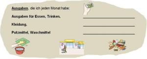 Haushaltsplan in Leichter Sprache