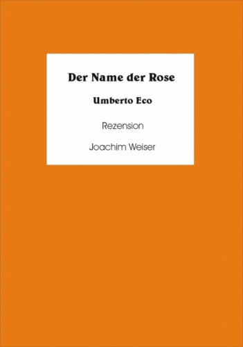 Der Name der Rose Rezension