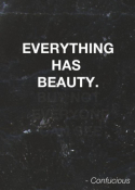 EVERYTHING IS BEAUIFUL