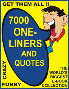 7000 One-Liners and Quotes