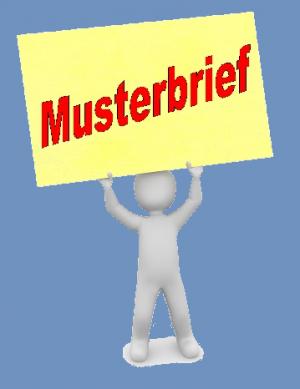 Musterbrief Widerspruch b. falschen Lastschriften/Abbuchung