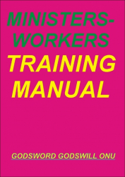 Ministers-Workers Training Manual