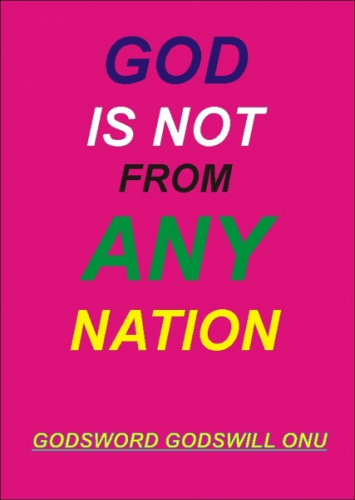 God Is Not from Any Nation