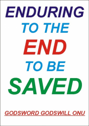 Enduring to the End to Be Saved