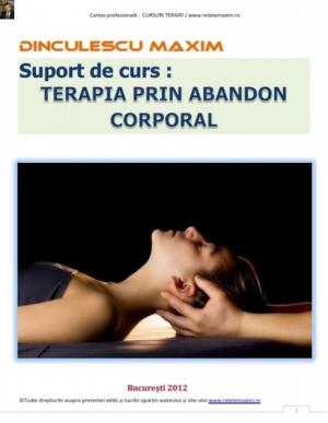 Terapia prin abandon corporal