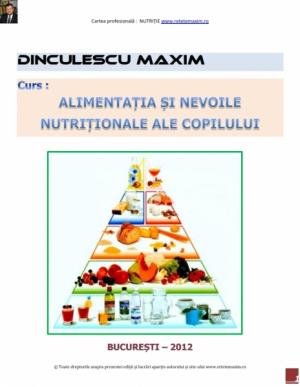 Alimentatia si nevoile nutritionale ale Copilului