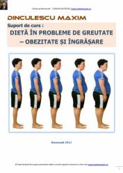 Dieta in probleme de greutate (Obezitate si Ingrasare)