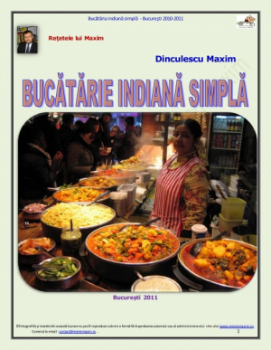 Bucatarie Indiana, simpla