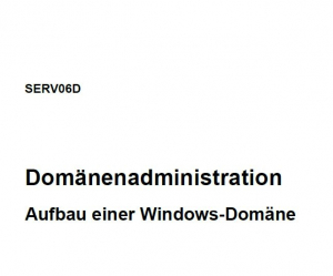SERV06D Domänenadministration