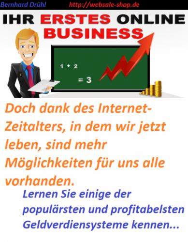 Ihr erstes online Business