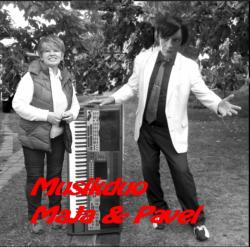 Böhmische Blasmusik-MUSIK DUO MAJA & PAVEL-Smes Karla Vacka