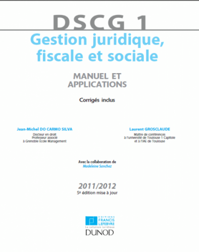Gestion juridicque fiscale et sociales