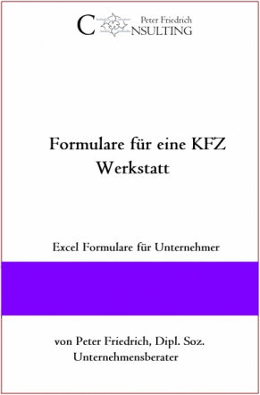 Verkaufsformular für KFZ Annahme