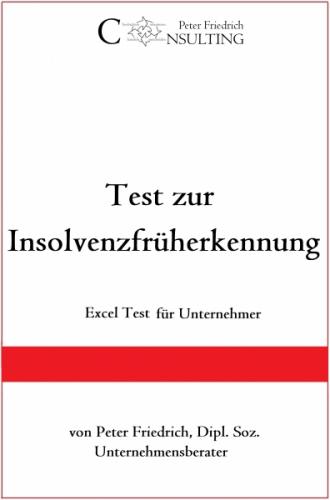 Test zur Insolvenzfrüherkennung