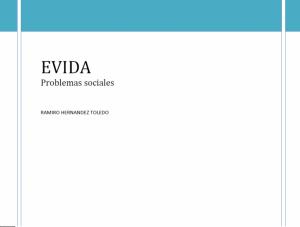 EVIDA-Problemas sociales