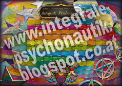 Integrale Psychonautik Poster A0